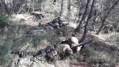 ΛΕΦΕΔ Αττικής: Εκπαίδευση στις τακτικές μάχης πεζικού