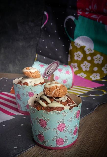 muffin alla zucca e mele frullate con amaretti