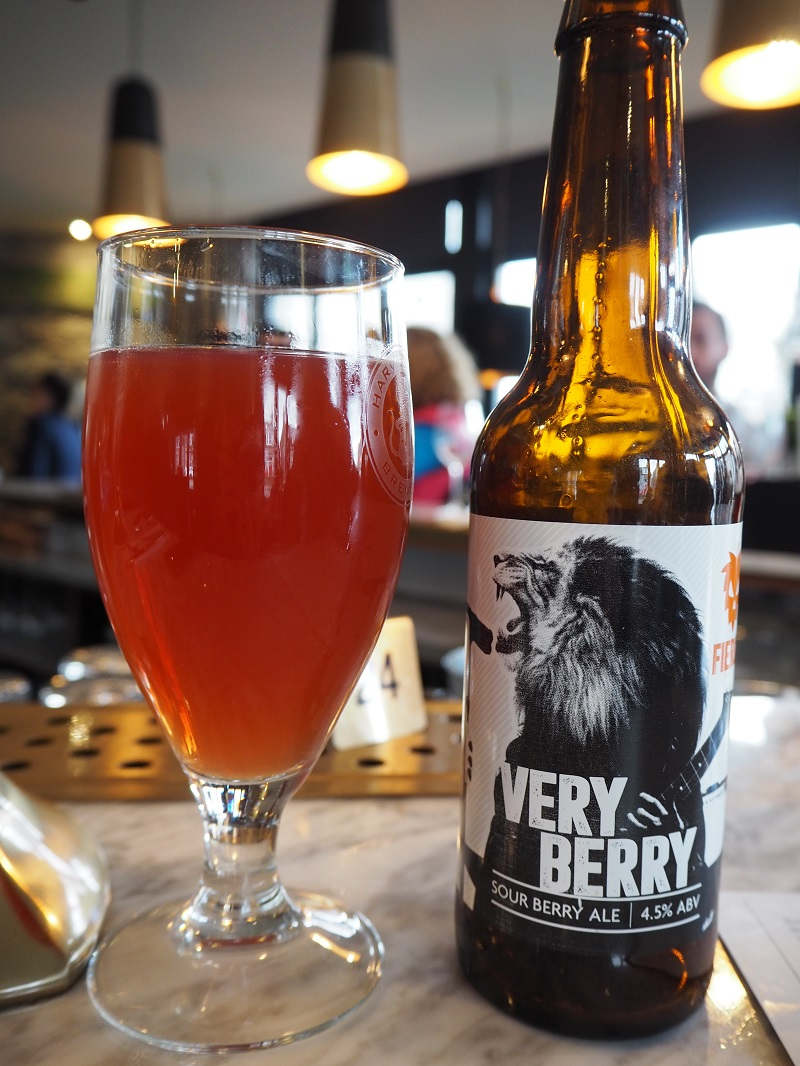 Fierce beer very berry
