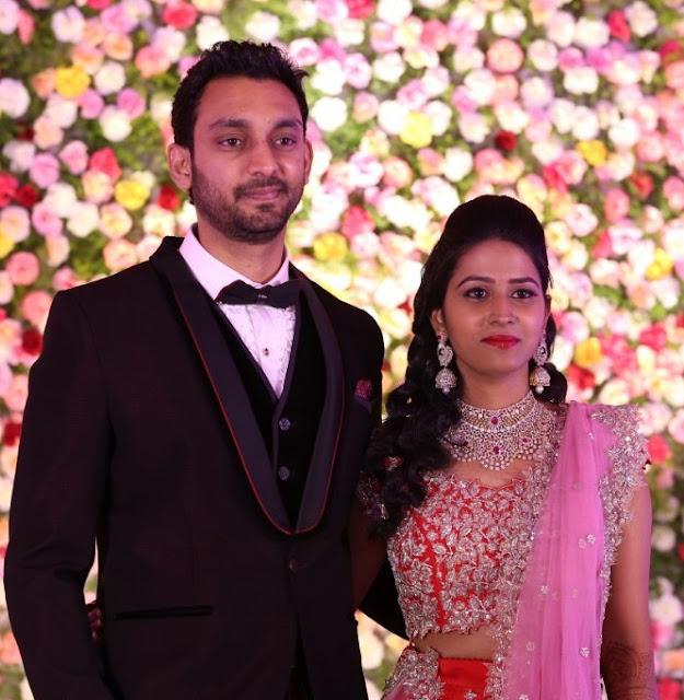 Sri Raghav and Bhavana Wedding Reception