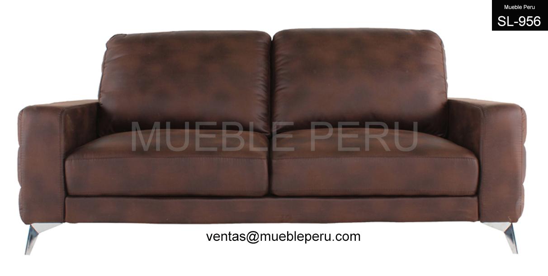 Muebles de sala elegantes sofas de cuero for Muebles briole sofas