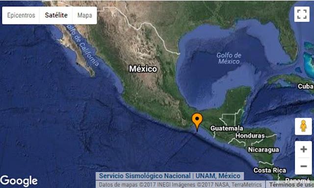 MEXICO: Sismo de magnitud 5,1 sacude el sur