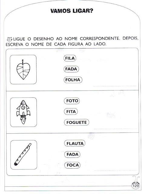 Atividades de Alfabetização - A Baratinha