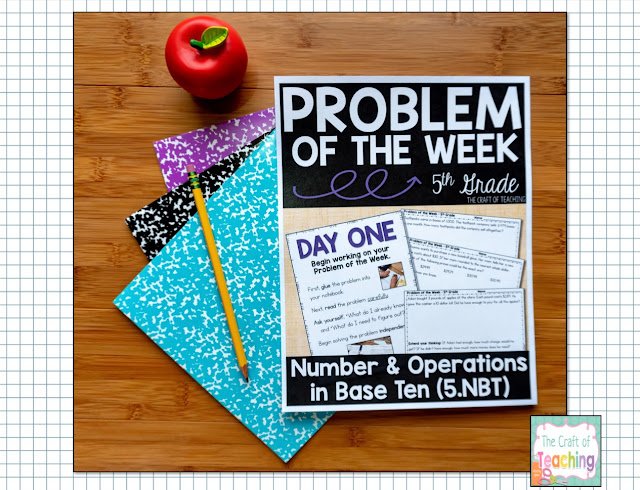 Problem of the Week Graphic