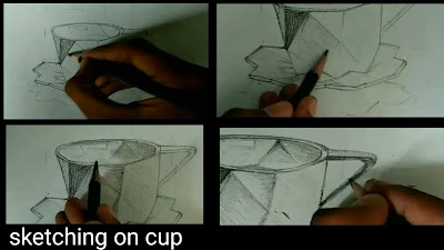 How to draw cup, Drawing for kids