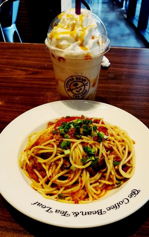 Makan di The Cofee Bean & Tea Leaf, Nu Sentral, Kuala Lumpur