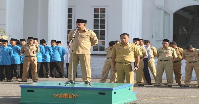 Kalifah Kota Bima Dilepas Wakil Wali Kota