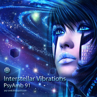 cover image for this mix psyamb 91 interstellar vibrations