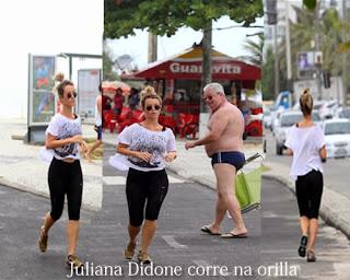 Juliana Didone se ejercita