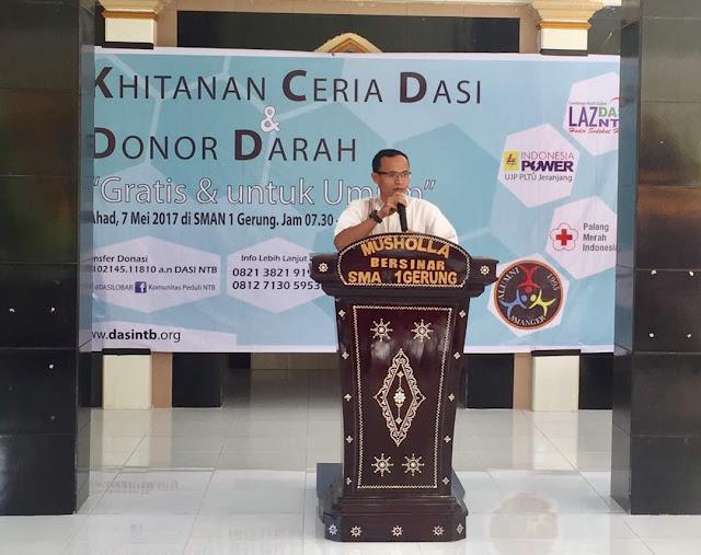 PT Indonedia Power UJP PLTU Jeranjang Selenggarakan Donor Darah dan......
