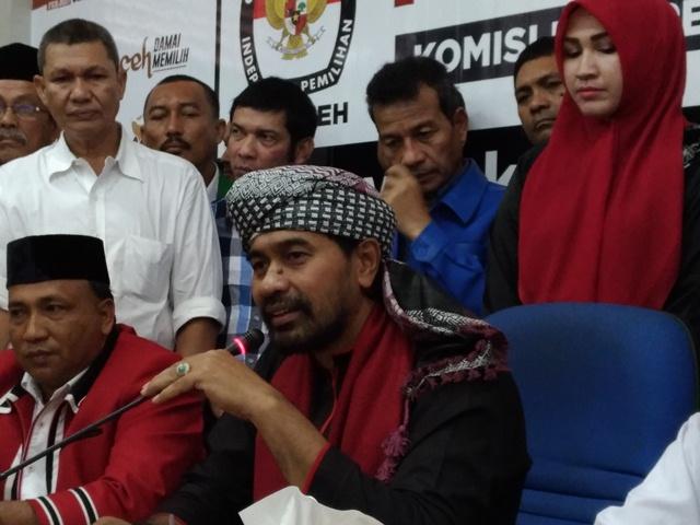 Daftar Pilkada Aceh, Muzakir Manaf Minta Jangan Ada Pertumpahan Darah