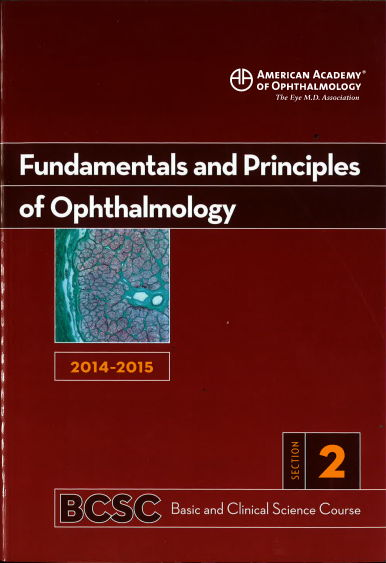 [AAO 2014-2015] Section 2 Fundamentals and Principles of Ophthalmology [PDF]