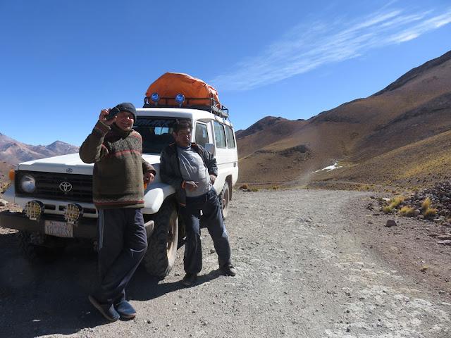 Auf dem Weg nach Bonete Palca führt der Weg über einen Pass von 4 662 m