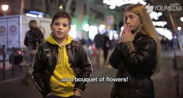 Η αντίδραση μικρών αγοριών όταν...
