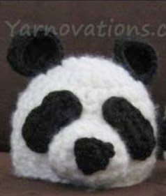 http://www.yarnovations.com/wp-content/uploads/2011/09/Baby-Panda-Hat.pdf