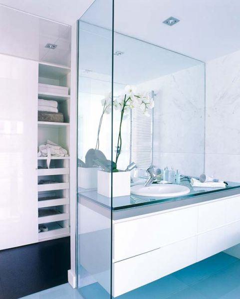 Decorar Un Baño Clasico:ideas de baños que mezclan lo moderno con lo clásico