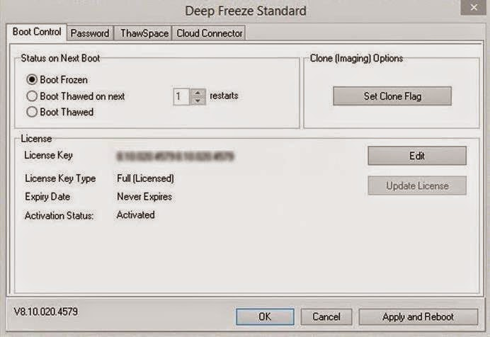 Deep freeze 7. 0 for windows 7 download a full and free version.