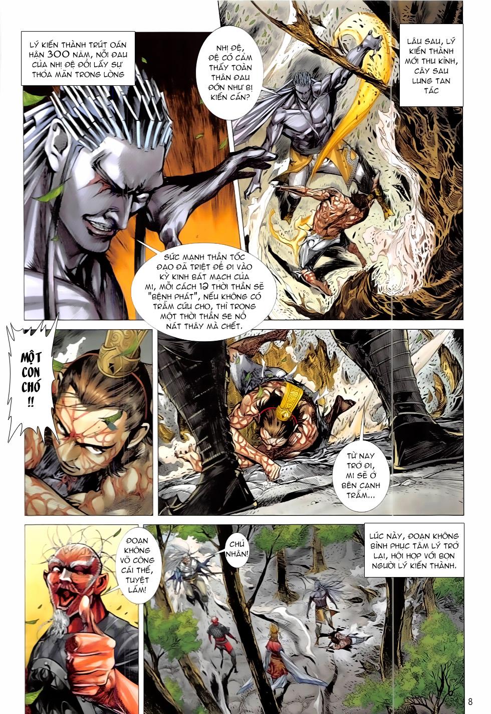 Thiết Tướng Tung Hoành – Chap 212