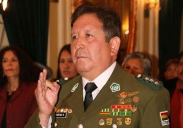 Ciro Farfán fue comandante de la policía en 2011