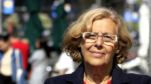 Manuela Carmena se presentará de nuevo a la alcaldía de Madrid