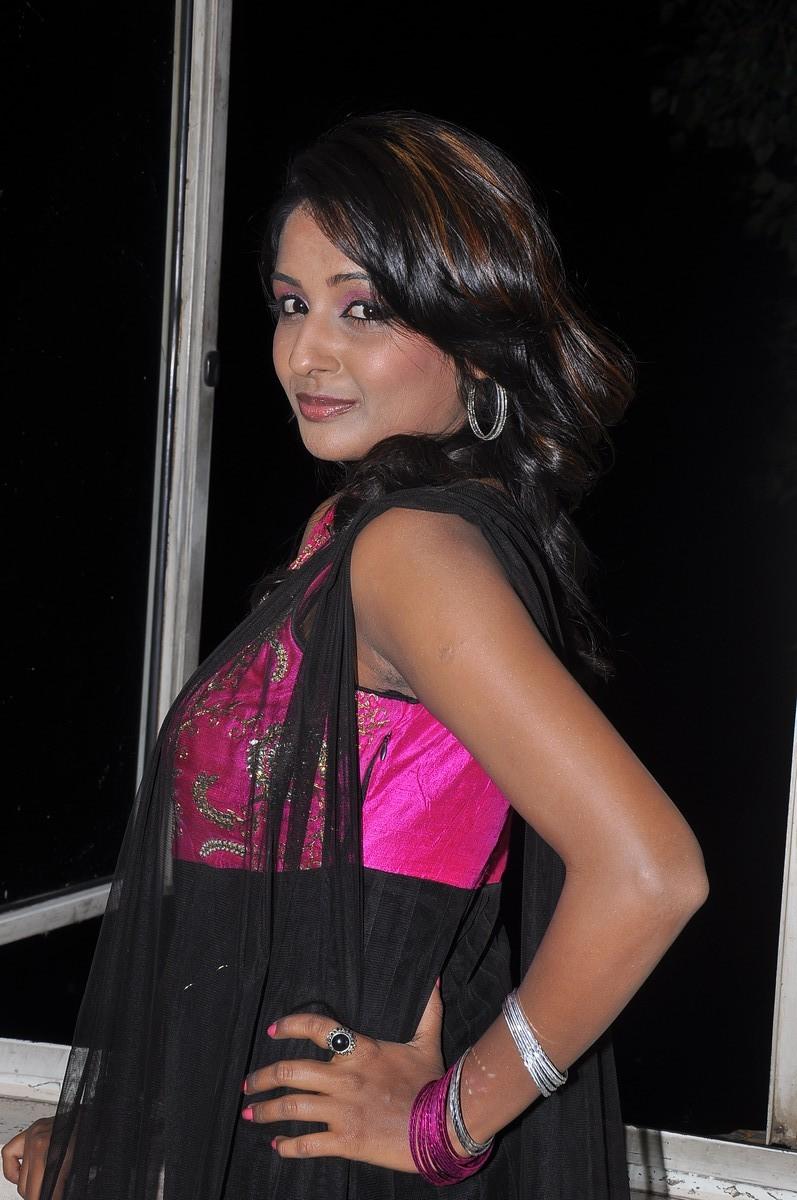 Dark beauty amitha rao photos at first love audio release