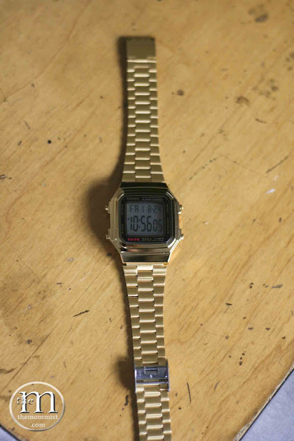 Casio A178 WGA Gold Watch