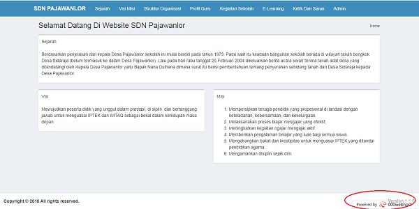 Konfigurasi Hosting dari 000Webhost