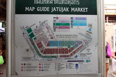 Chatuchak Markt Map