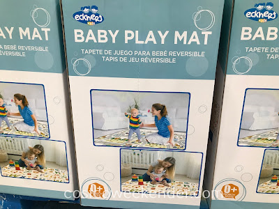 Have your child play on a soft surface with the Eckhert Kids Baby Play Mat
