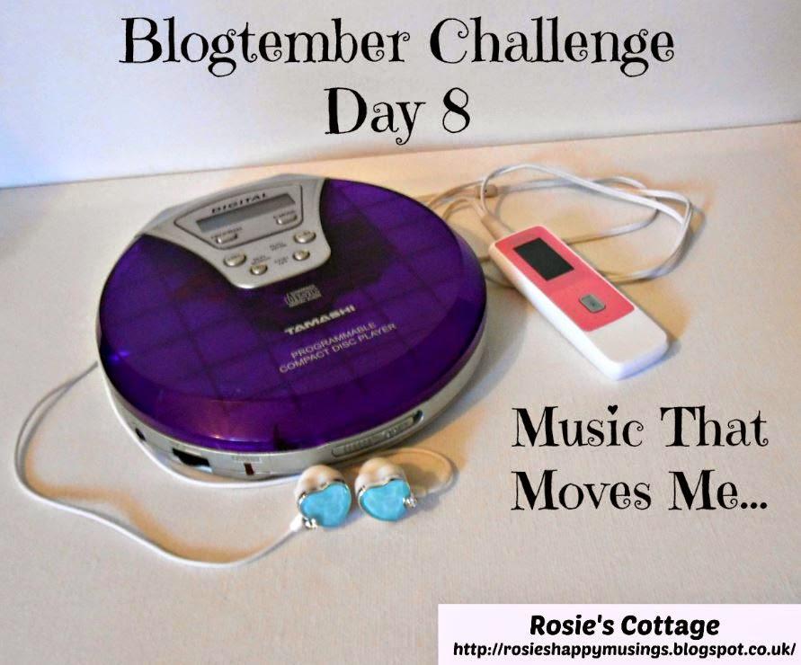 Blogtember Challenge Day 8 Music