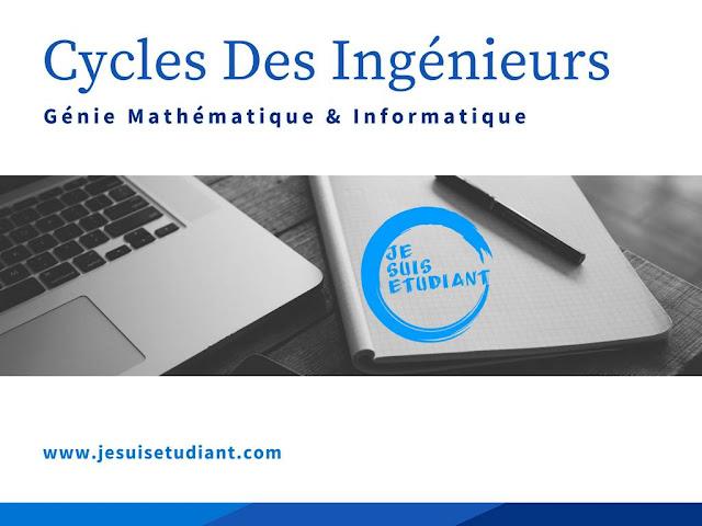 Cycles Des Ingénieurs | Génie Mathématique & Informatique GMI - Conditions D'accès