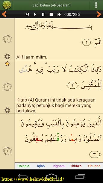 aplikasi Al-Quran bahasa indonesia untuk android