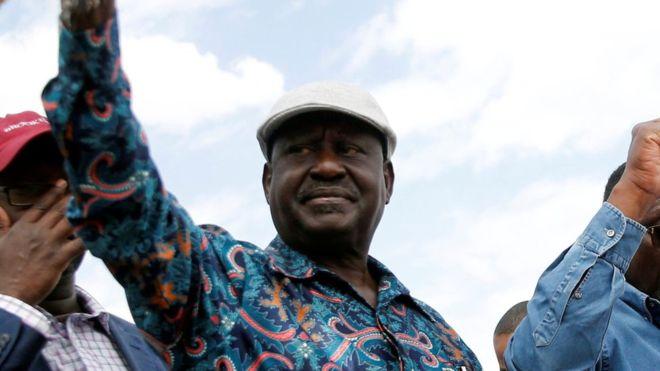 Kenya election: Raila Odinga urges supporters to strike