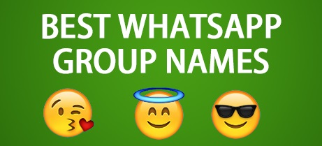 whatsapp groups names