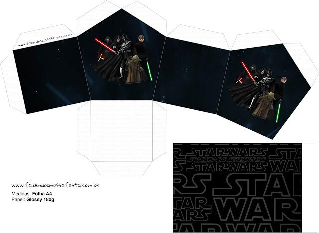 Star Wars: Cajas para Imprimir Gratis. | Oh My Fiesta! Friki