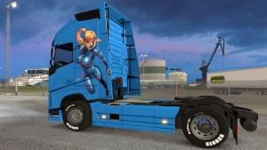 Anime Girls Volvo 2012 skin