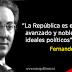 Concepto de radicalismo republicano según Fernando Valera