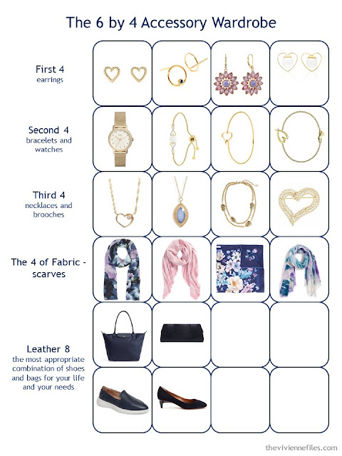 Step 3 of a 6 by 4 Accessory Wardrobe