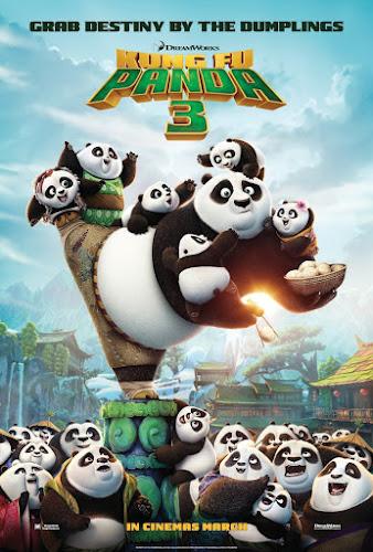 Kung Fu Panda 3 (Web-DL 720p Dual Latino / Ingles) (2016)