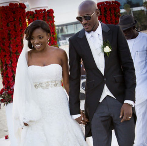 Thank you for blessing Africa with your existence - Annie Idibia tells 2face on birthday