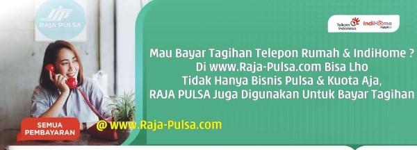 RajaPulsa.co CV Raja Multi Solusindo Loket Pembayaran Tagihan Online Telkom dan Indihome