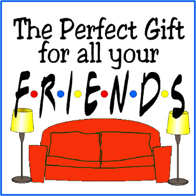 "If you need the perfect gift for one of your friends, take a page from the best Friends there are and check out this Friends Gift Guide.  You'll ""Pivot"" your way to the perfect gift for your ""Lobster."""