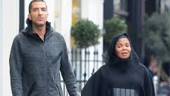 There's No Chance Of A Wardrobe Malfunction In This Outfit... pregnant Janet Jackson, 50, covers her blossoming baby bump in Islamic-style dress as she enjoys London Amble With Husband Wissam Al Mana