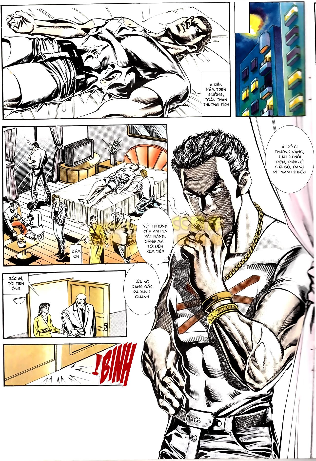Người Trong Giang Hồ chapter 166: bùng nổ trang 28