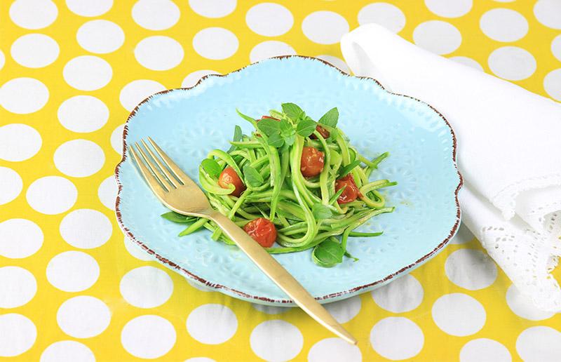 Macarrão verdinho para animar seu jantar!