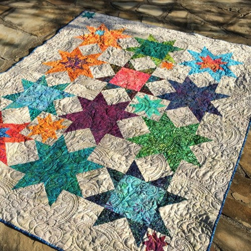 Summer Sand & Stars Quilt - Free Pattern