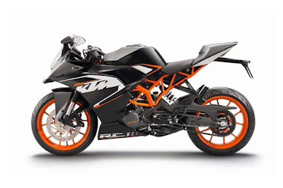 KTM RC 200  side image
