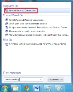 Cara Remote Desktop Pada Windows 7