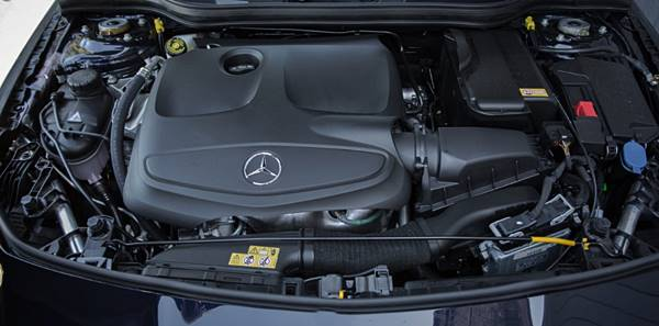 2018 Mercedes-Benz CLA200 Sedan Engine Update