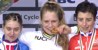 Podium Zolder championnat du monde cyclo-cross